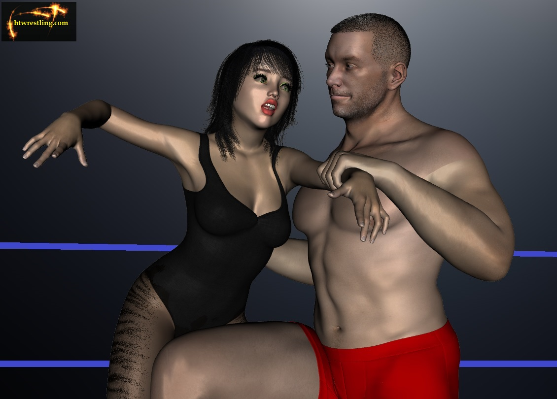 pro wrestling spanking